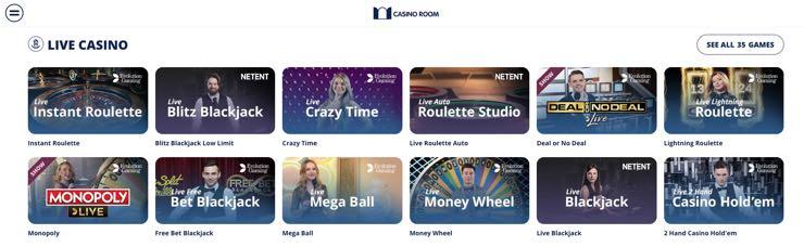 Сasinoroom-live casino