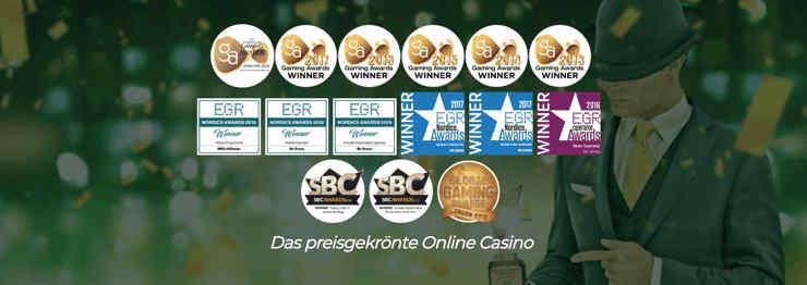 Das preisgekrönte Online Casino