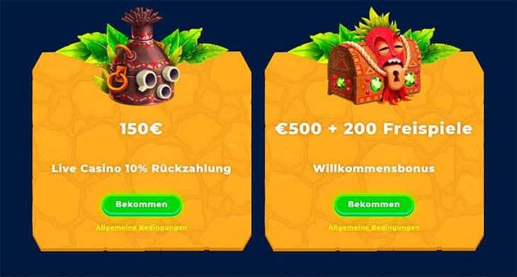 Welche Wazamba Casino Bonus Angebote gibt es?