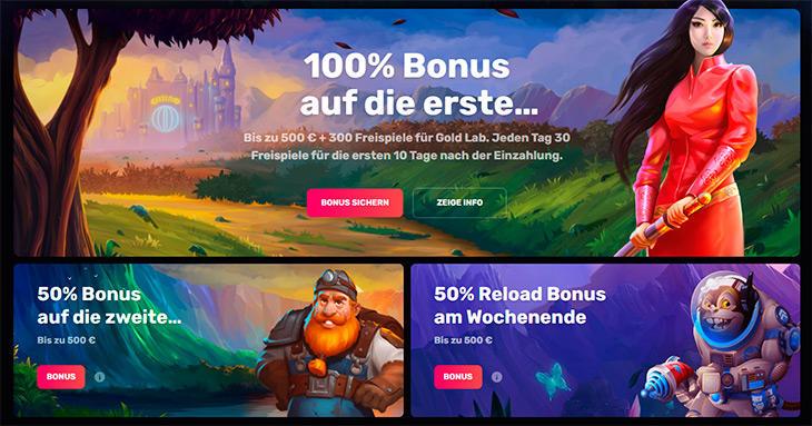 Casinomia Bonus Angebote