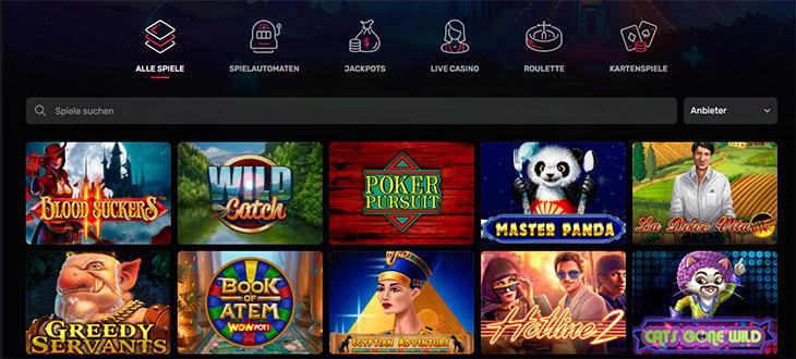Online Casino Slots im Casinomia?