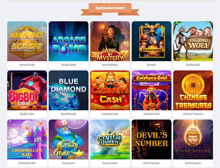 Welche Slots sind im Cookie Casino verfügbar?