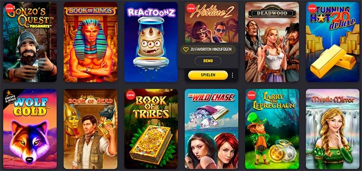 Gibt es im FEZbet auch viele Online Spielautomaten?