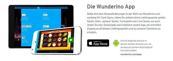 Ist das Wunderino auch auf mobilen Plattformen verfügbar?