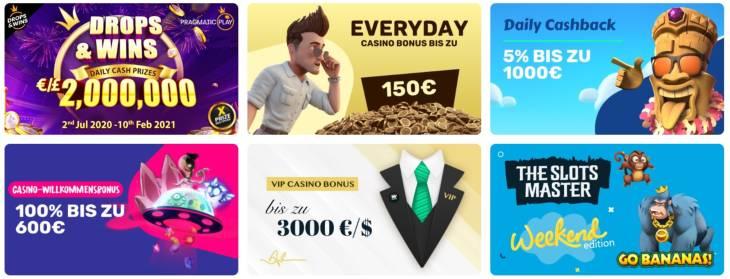 Welche Casino Bonus Angebote findet man bei Wallacebet?