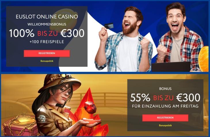EUSlot Bonus